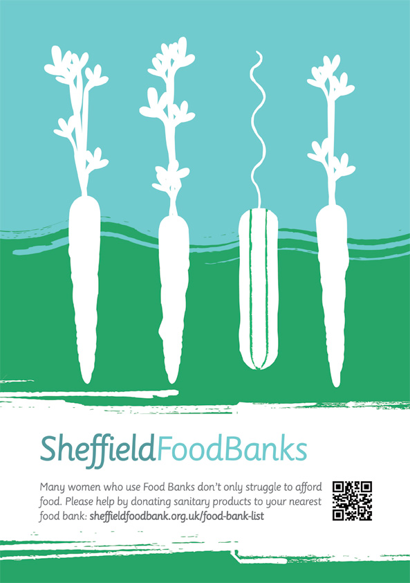 Sheffield Food Banks - Sanitary Product Donations