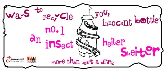 Innocent Drinks Tube Advert