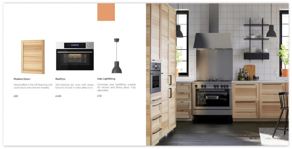 Living Kitchen Product Page