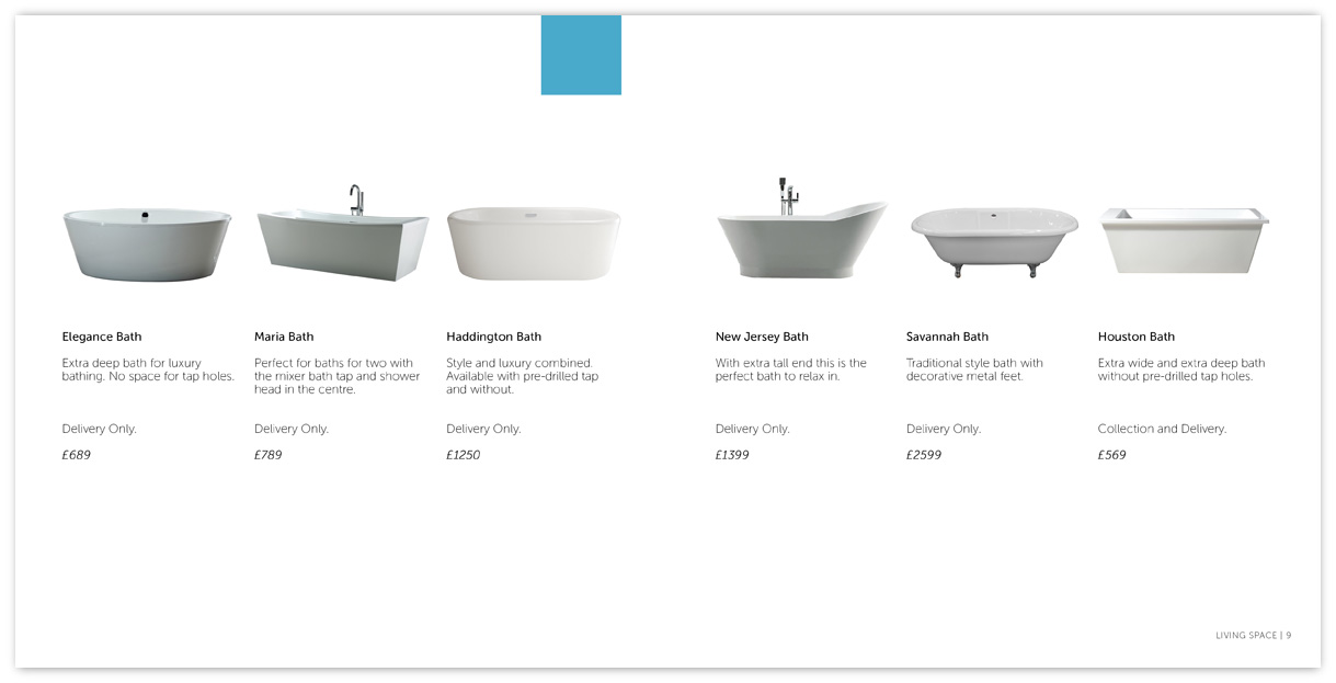 Bathroom Product Page
