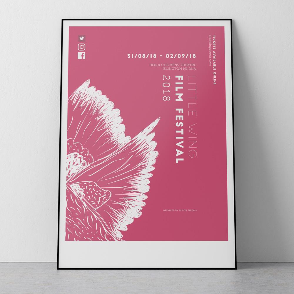 Little Wing Film Festival Poster 2018