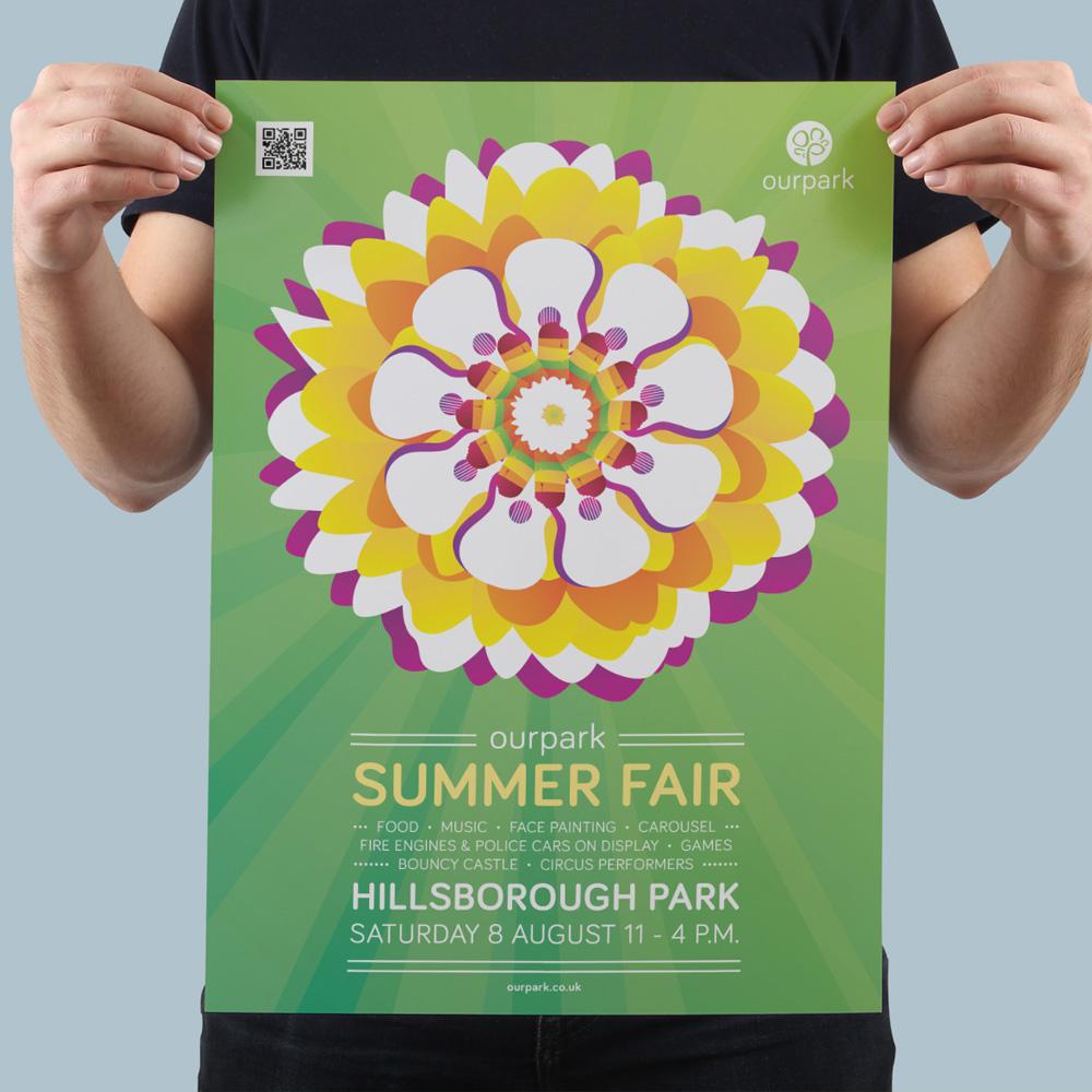 Ourpark Summer Fair Poster