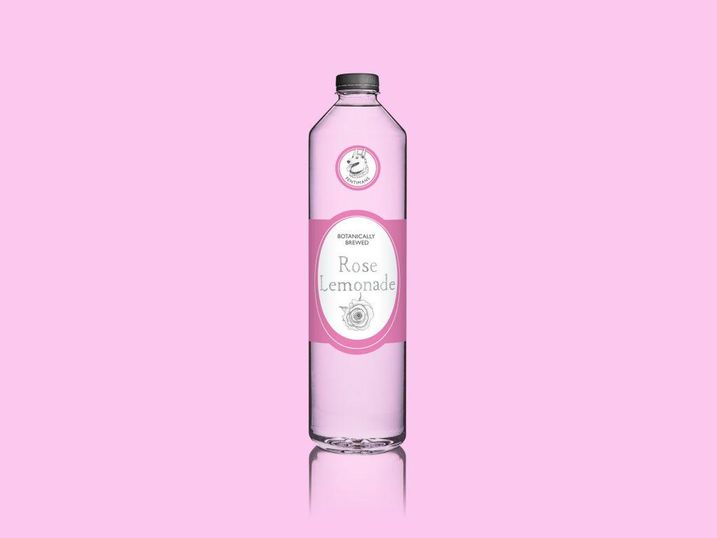 Rose Lemonade Bottle Label